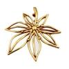 Bronze Pendant Open Flower 29x32mm